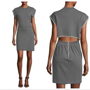 Alexander Wang French Terry Cinch Waist Dress NWT